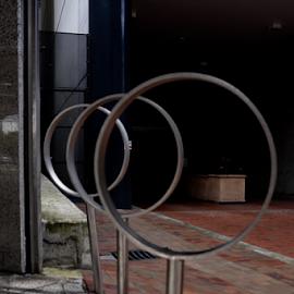 circles by Rachel Urlich - Abstract Patterns ( circular, aluminium, round )