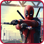 Incredible Super Hero Deadpool Guardian of Galaxy Icon