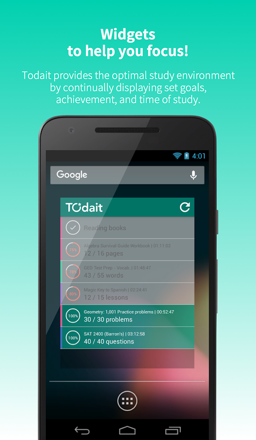 Todait - Smart study planner Screenshot 6
