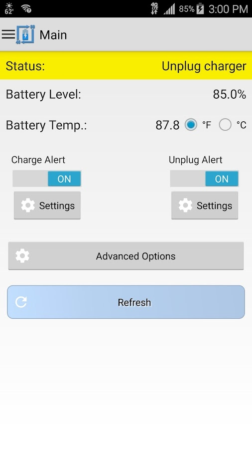 Battery Alert 40-80 Pro Screenshot 4