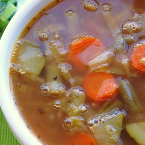 Weight Watchers 0 PTs Vegtable Soup