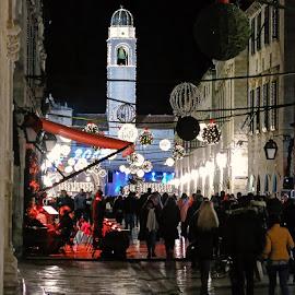 by Boris Buric - Public Holidays Christmas ( du., stradun,  )