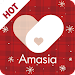 Amasia - Let's make Korean and global friends Icon