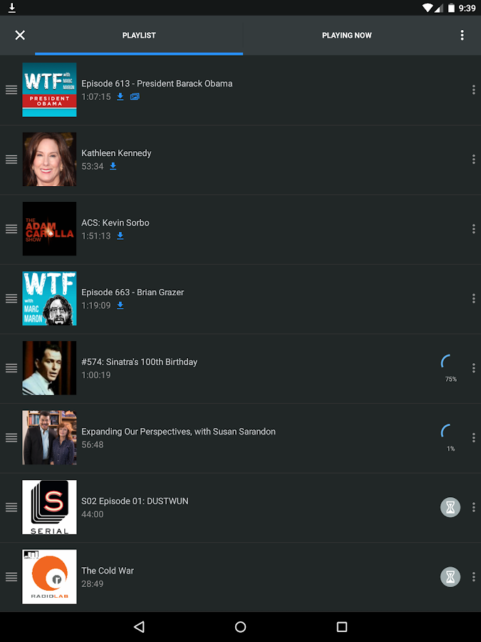 WeCast - Podcasts Screenshot 8