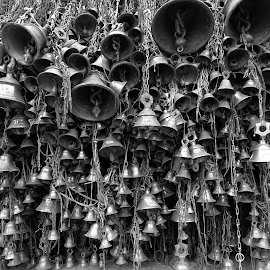 Bells  by Asif Bora - Black & White Objects & Still Life (  )