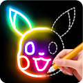 Free Download Learn to Draw Glow Cartoon APK for Samsung