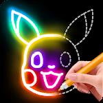 Learn to Draw Glow Cartoon on PC / Windows 7.8.10 & MAC