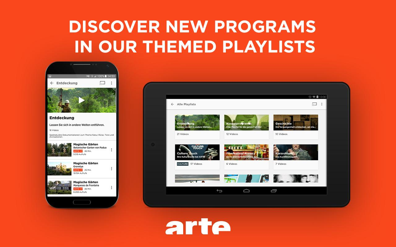 ARTE – Streaming and Catch-up Screenshot 12