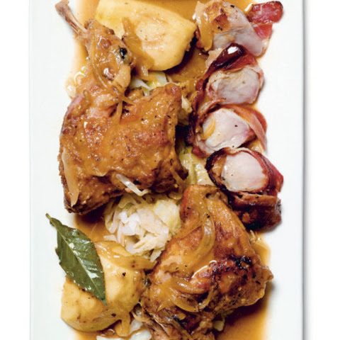 Cider-Braised Rabbit With Apples and Crème Fraîche From 'The Wild Chef'