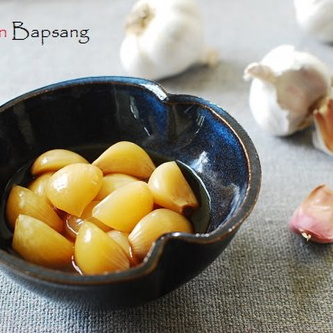 Maneul Jangajji (Korean Pickled Garlic)