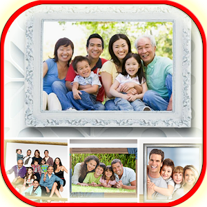 Family photo frame for PC-Windows 7,8,10 and Mac