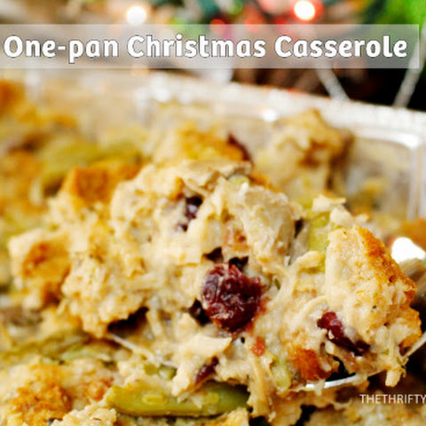 One-Pan Christmas Casserole Recipe (Plus Great Gift Idea with Printable Tags)
