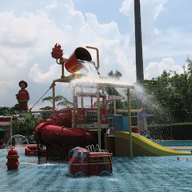 Place to Swim with Fun by Dennis  Ng - Sports & Fitness Swimming (  )