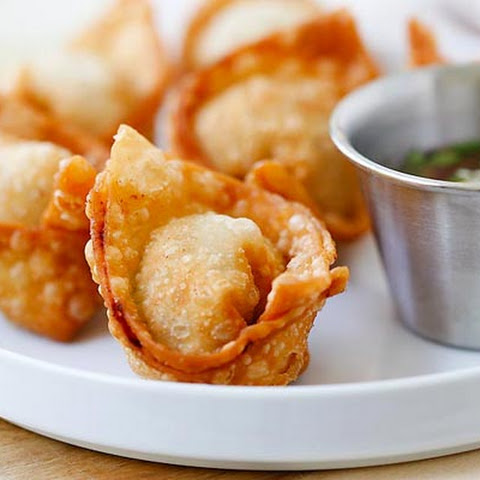 Layered Sweet and Sour Asian Dip with Fried Wonton Dippers Recipe ...