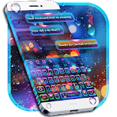 SMS Luminous Keyboard Theme