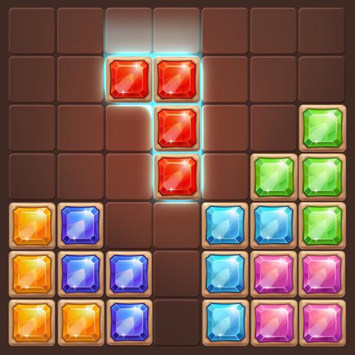 Gems Block Puzzle Jewels: hexa Mania Free games (game)