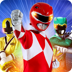 Cover art Power Rangers: UNITE