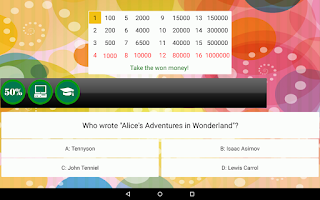 Screenshot of Become Rich - Knowledge Quiz