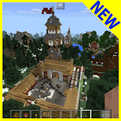Rexzy Rey's Village MCPE map APK for Bluestacks