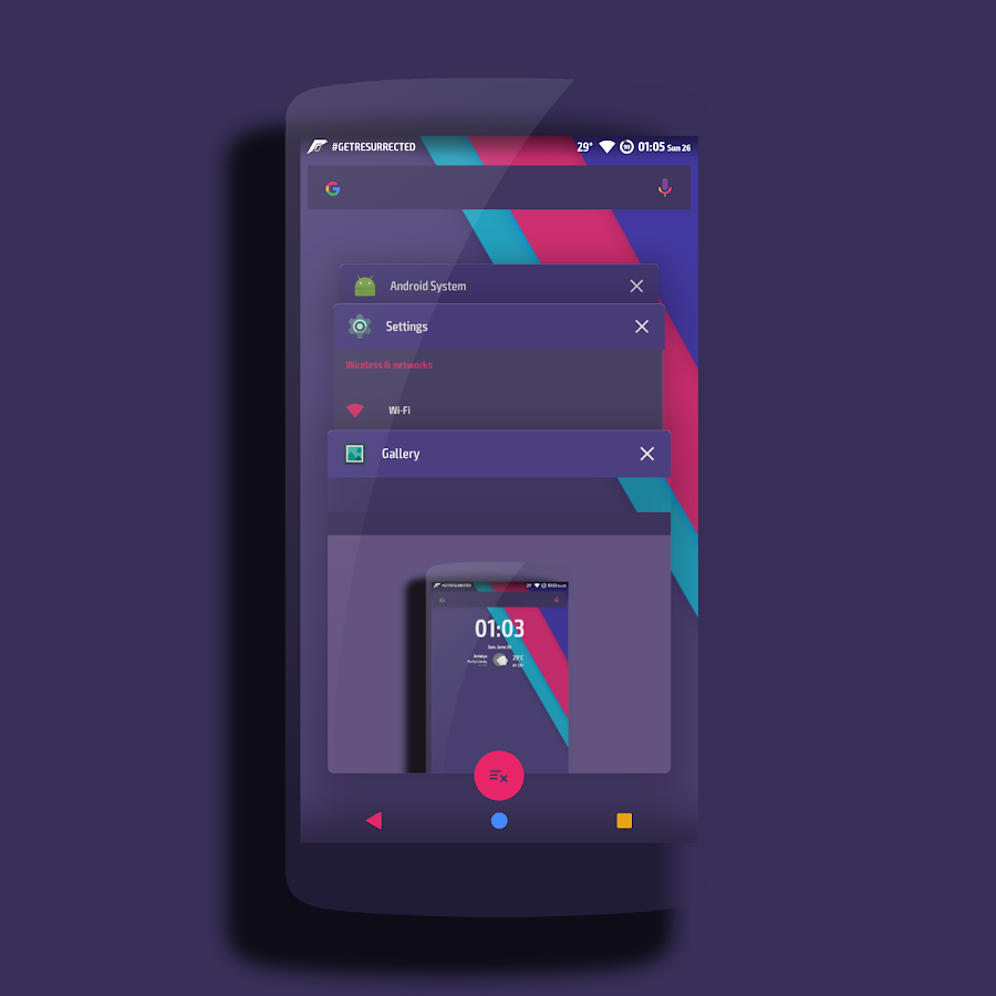 Neptune │Vibrant Theme CM13/12 Screenshot 3