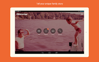 Screenshot of MyHeritage