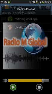 RadioMGlobal - screenshot