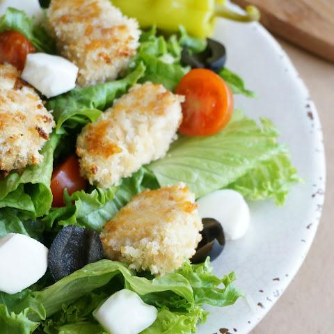 Grilled Chicken Salad with Basil Vinaigrette