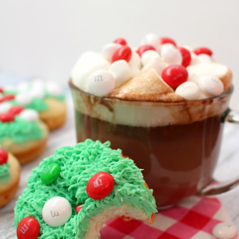Christmas Tree Donuts