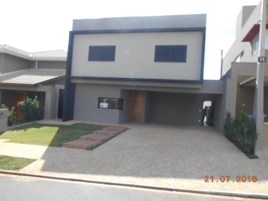 Casa residencial à venda, Condomínio Bella Città, Ribeirão P...