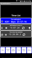 Screenshot of TwoTouch Alarmclock & Timer