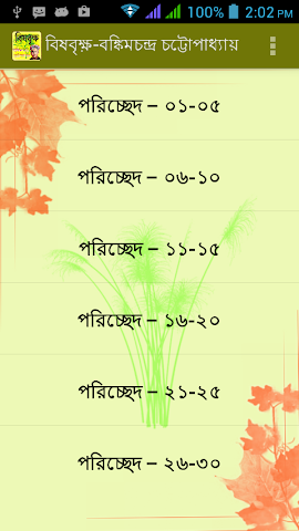 android বিষবৃক্ষ | brishbrikkho Screenshot 0
