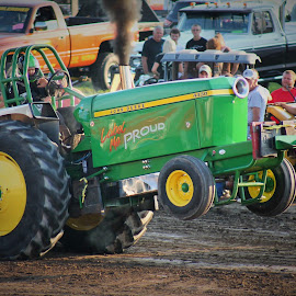 3,2,1 Lift Off  by Brian  Shoemaker  - Sports & Fitness Motorsports ( pulls, tractor )