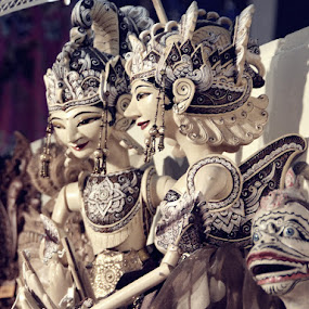wayang golek by Herry Wibisono - Artistic Objects Toys ( toy, golek, art, culture, wayang )