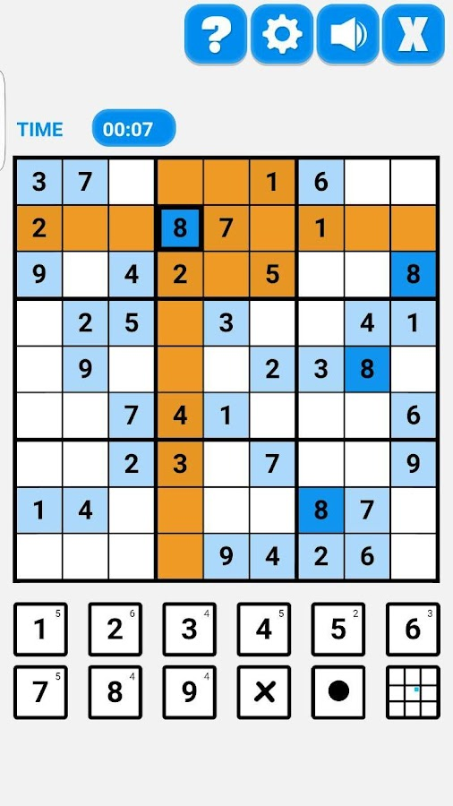Supreme Sudoku Revamped Screenshot 1