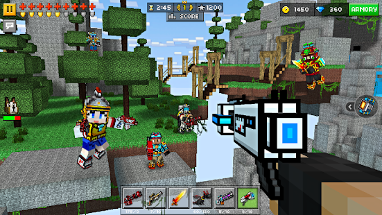 Pixel Gun 3D (Pocket Edition) 11.3.0 [Mod Money Level] Apk + Data