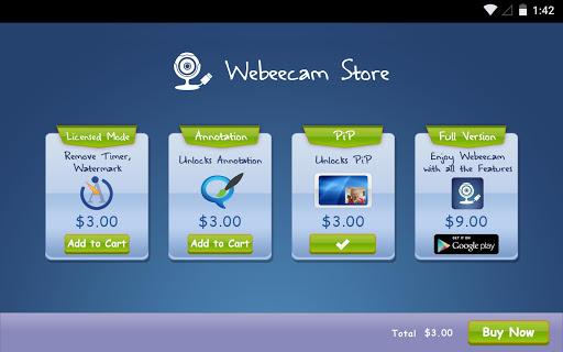 Webeecam -USB Web Camera - screenshot