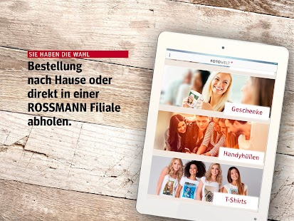 app rossmann fotowelt apk for windows phone android games and apps. Black Bedroom Furniture Sets. Home Design Ideas