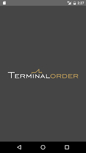 TERMINAL ORDER - screenshot
