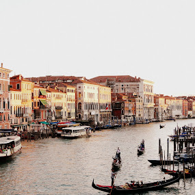 Untouched by Dhannya Jacob - Travel Locations Landmarks ( water, venice, boat, italy, canal )