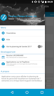 Planning Clinique St-Augustin - screenshot