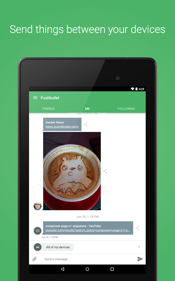 Pushbullet - SMS on PC Screenshot 11