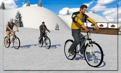 Off road Bicycle Rider Race - screenshot