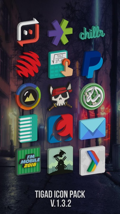 Tigad Pro Icon Pack Screenshot 1