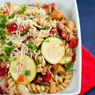 Bow Tie Pasta With Italian Sausage Peppers Recipes