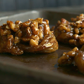 Fireball Whisky Caramel Walnut Sticky Buns