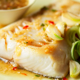 Alaska Black Cod with Ginger-Lime Sauce