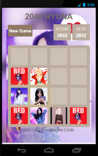 2048 HYUNA - screenshot