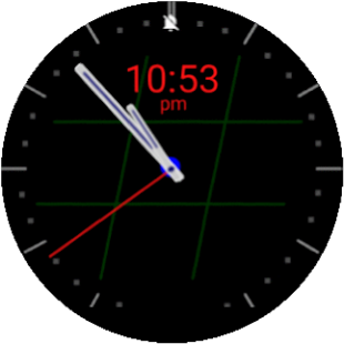TicTacToe Watchface - screenshot