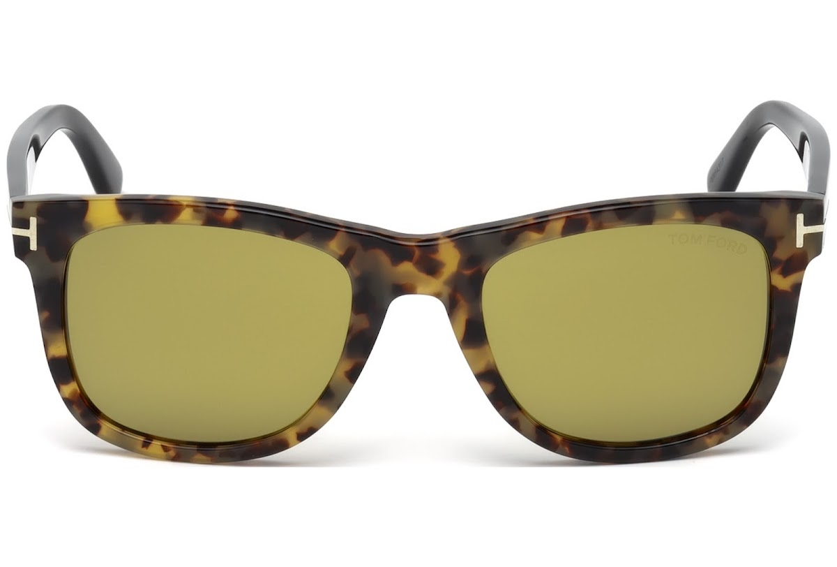 Buy Tom Ford Leo FT0336 C52 55N (coloured havana   green) Sunglasses ... 651151dd99f5