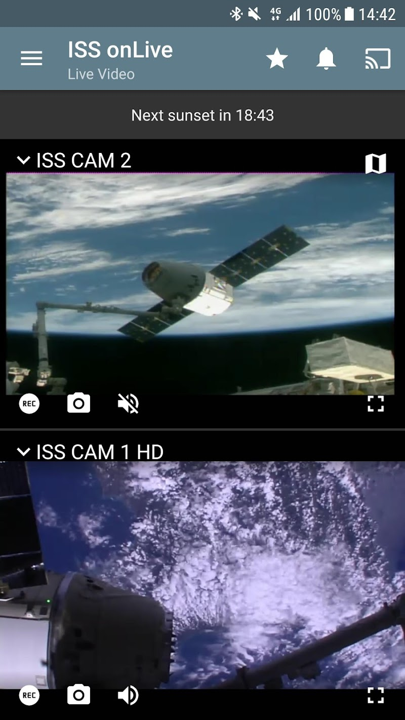 ISS on Live: HD View Earth Live Screenshot 6